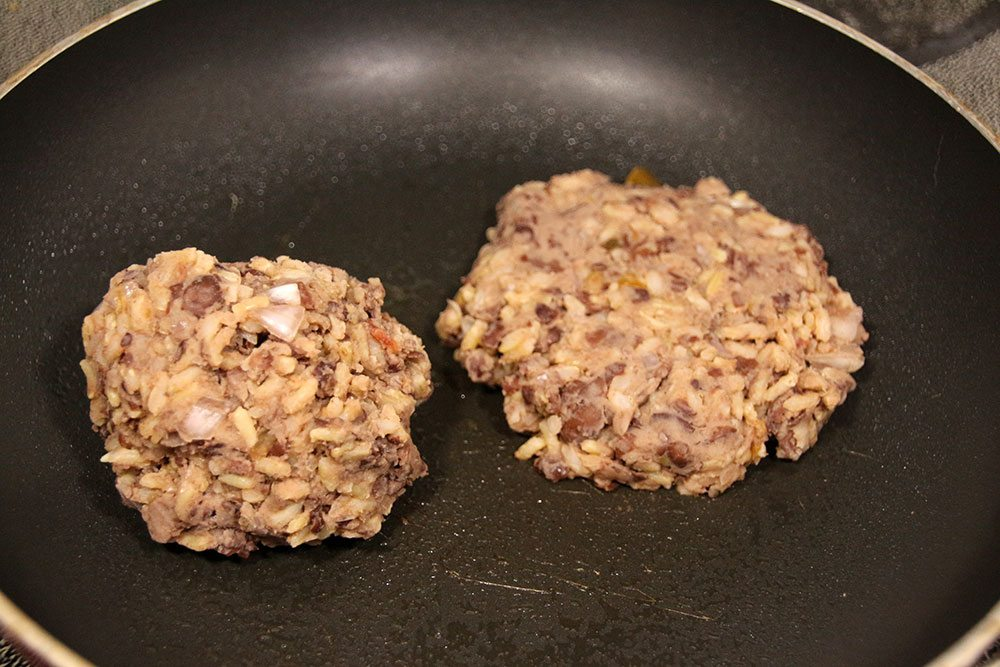 Vegetarian Black Bean and Rice Burgers