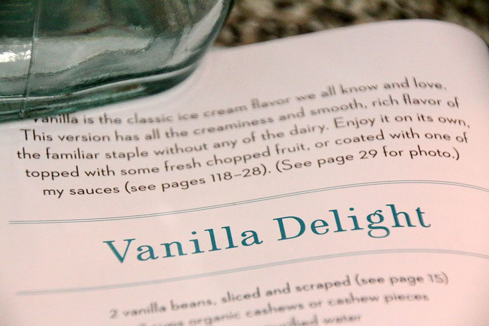 Vegan Ice Cream Cookbook Review
