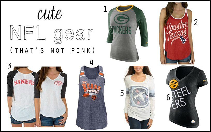 Cute NFL Gear (That's Not Pink)