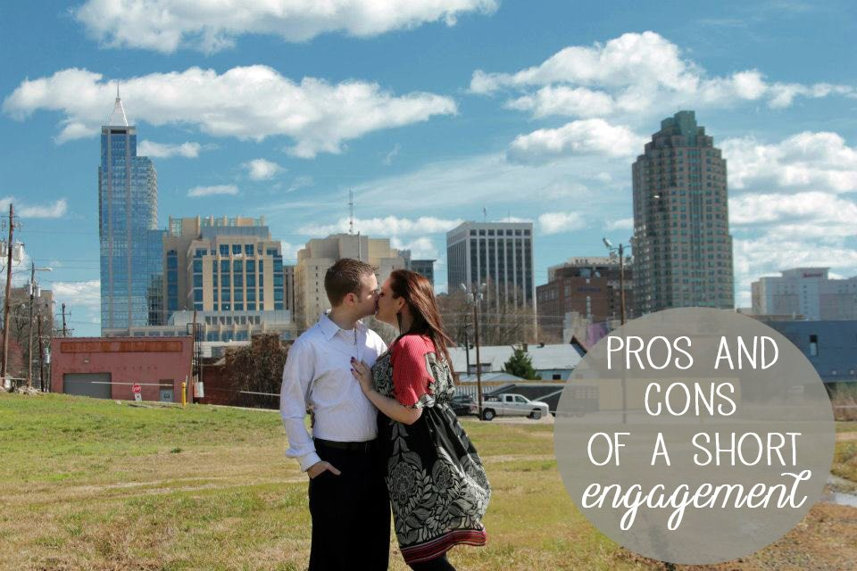 Pros-and-Cons-of-a-Short-Engagement