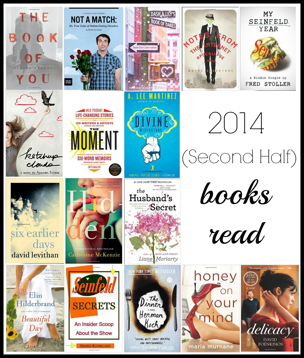 2014-Second-Half-Books-Read